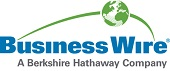 Business Wire: A Berkshire Hathaway Company logo
